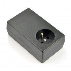 Plastic box Kradex Z31 - 120x71x45mm black