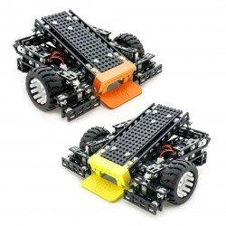 Two Totem Mini Trooper robots - different colors