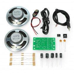 Audio amplifier NJM2073D 2V-15 V 1W