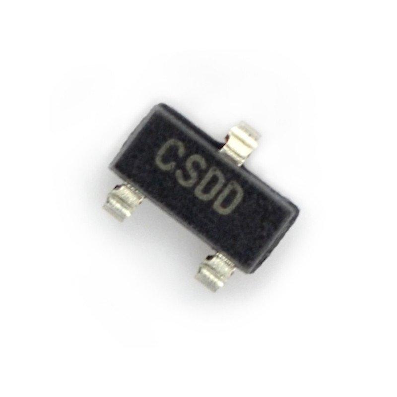 LDO 3.3V MCP1700T - SMD SOT-23