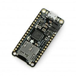 Adafruit Feather M0 Adalogger with microSD card reader, compatible with Arduino
