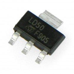 LDO 5V stabiliser LM1117MP - SMD SOT223