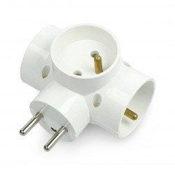 3x splitter for 230V AC socket
