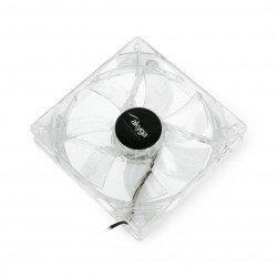 Fan 12V 120x120x25mm MOLEX - green light