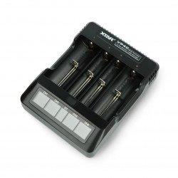 XTAR VP4 battery charger - 1-4pcs.