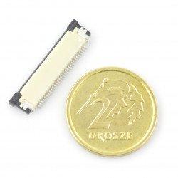 Złącze: FFC / FPC 20 pin, raster 1mm