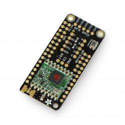 Adafruit FeatherWing radio RFM95 Lora module 433MHz - pad for Feather