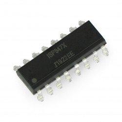 Multiple optocoupler ISP847...