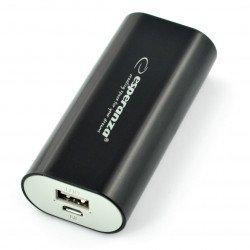 Mobile PowerBank battery Esperanza Hadron EMP105K 4400mAh