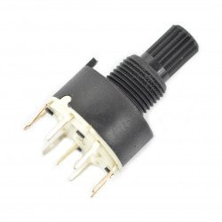 Rotary switch 4-position 2 circuits - 29.5mm