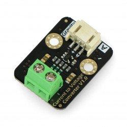 DFRobot Gravity: Converter prądowo - voltage 0-25 /0,3 V
