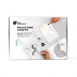Bare Conductive Electric Paint Lamp Kit - paper lamp creation kit
