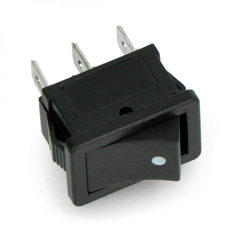 Przełącznik kołyskowy MK1012C - czarny