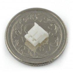 JST socket straight raster 1.5mm - horizontal