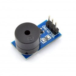Module with active buzzer - with generator