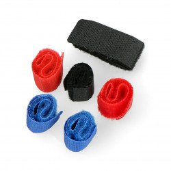 Blow cable organizer - Velcro band - 6 pcs.