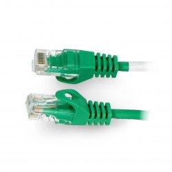 Lanberg Ethernet Patchcord UTP 5e 30m - green