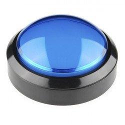 Big Push Button 10cm - blue...