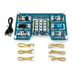 Grove - set of 10 sensors with Seeeduino Lotus module for beginners