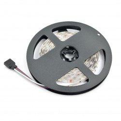 Strip LED SMD5050 IP44 7,2W, 30 LED/m, 10mm, RGB - 5m