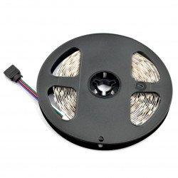 Strip LED SMD5050 IP44 14,4W, 60 LED/m, 10mm, RGB - 5m
