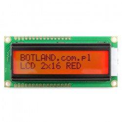 LCD display 2x16 characters...