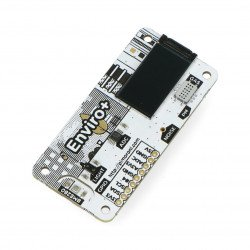 Enviro pHAT - sensor for temperature, humidity, pressure, light, gas, ADC with microphone - cap for Raspberry Pi