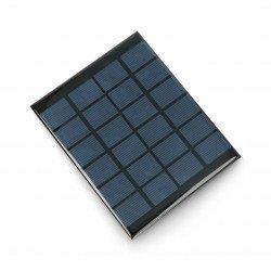Solar cell 2W / 6V 136x110x3mm