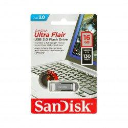 SanDisk Ultra Flair - USB 3.0 Flash Drive 16GB