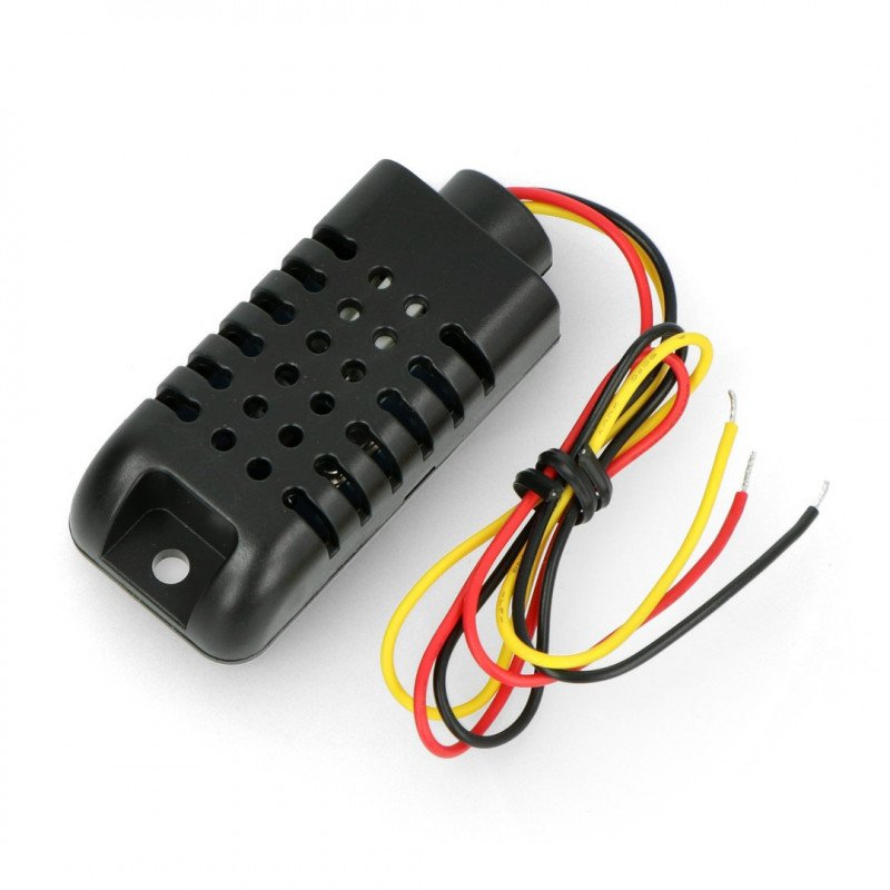 Temperature and humidity sensor DHT21 (AM2301) in case