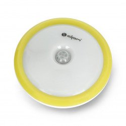 LED ML7000 with motion and twilight sensor with integrated battery - yellow