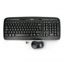 Logitech MK330 wireless kit - keyboard + mouse - black