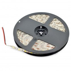 Strip LED SMD5050 IP65 14,4W, 60 LED/m, 10mm, natural white - 5m