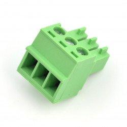 Assembly bar female 3-pin, raster 3,5mm