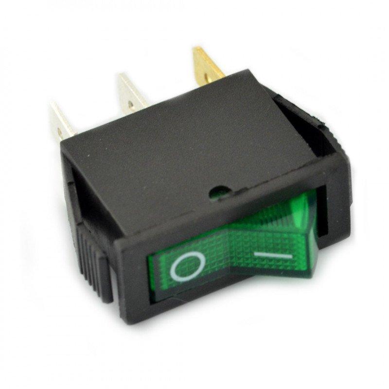 IRS-101-1B 250VAC/16A - green