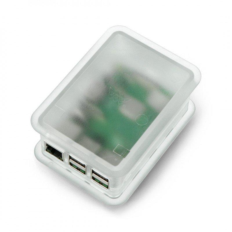 Case TEKO for Raspberry Pi Model 3/2/B+ with GPIO Hat - Matte_
