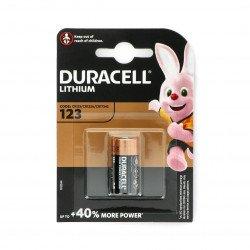 Duracell Lithium Battery - CR123 3V