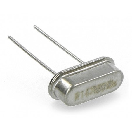 Quartz resonator 14,7456MHz - HC49 - low