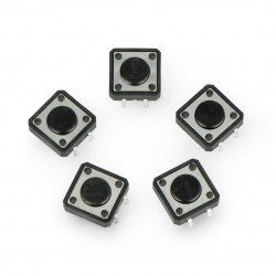 Qwiic JST Connector - SMD 4-pin - 5 pcs.