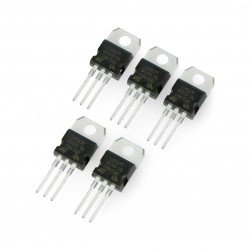 Voltage regulator LM317T 1,2-37V - THT TO220