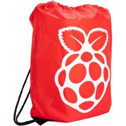 Red Drawstring Bag -...