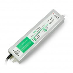 Waterproof power supply for LED strips and straps - 12V / 3.75A / 45W