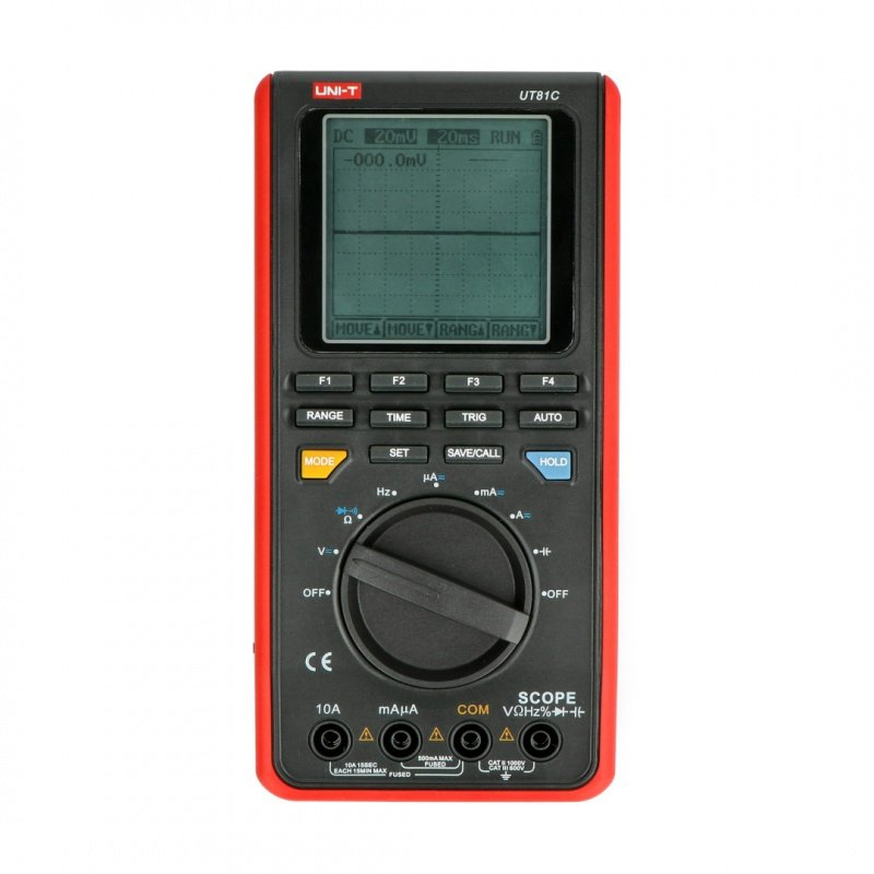 Oscilloscope with meter function UNI-T UT81C