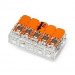 Electric cube WAGO 5pin 4mm 20A/450V