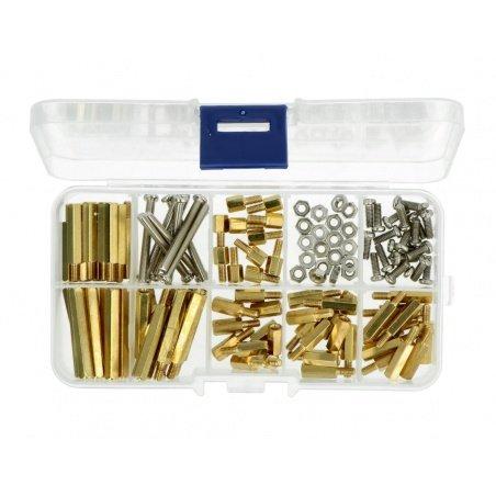 Set of M3 screws and spacers - Set A - 120pcs.
