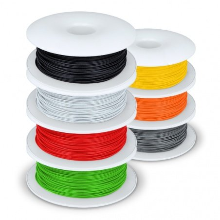 Try different PLA colors for 3D printing - large set