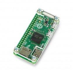 Raspberry Pi Zero Case - Fluo Open - transparent