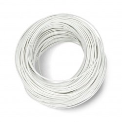 Installation cable LgY 1x0.5 H05V-K - white - roll 100 m