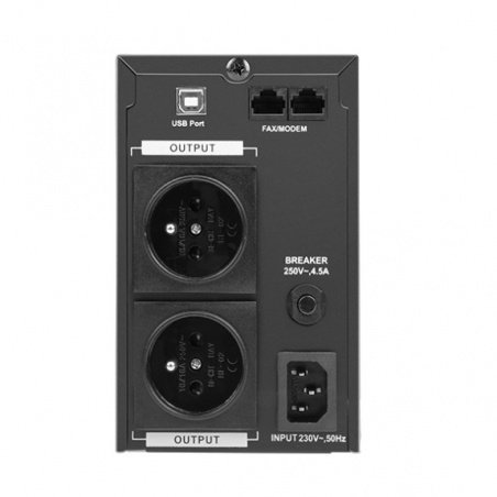 Uninterruptible power supply UPS Armac PSW 850F LCD - 2x socket