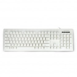 Waterproof keyboard USB Esperanza EK130W Singapore - white